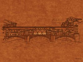 Bridges: Ponte Vecchio by vladstudio