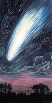 Comet Ison by spoof-or-not-spoof