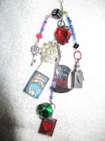 We're all mad key chain finished by Fallonkyra