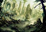 Ruined Osgiliath by daRoz