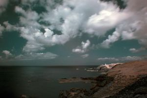 Infrared Levant cornwall UK by Pjharps