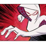 Spider-Gwen panel by whoisrico