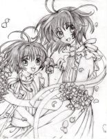 CCS and TRC Sakura by Whitewing16