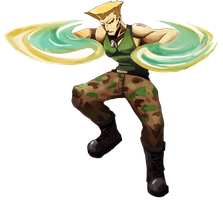 Sonic Boom Guile by Nhur