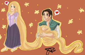 TANGLED FUN by GiselleRocks