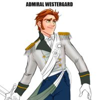 (Unfinish) Admiral Westergard of the Southern Isle by violetatranceart
