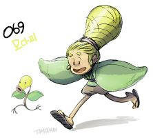 069.Bellsprout by tamtamdi