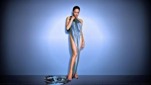 Angelina Jolie ALMOST II by Dave-Daring
