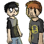 The Yellowbrite hoodlums (Ben and Vince) by greg11922