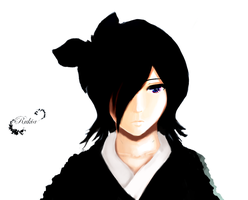 Rukia - Black Butterfly V2 by Alantyn