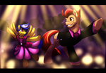 At the Father-Daugther Dance! by PaintedWave