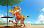 Sun and Sundress by Twokinds