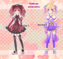 Fullbody Adoptables [CLOSED] by KarameruYukika