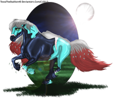 Night runner Karibian prize by TowaTheStallion45
