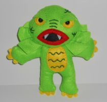 Creature from the Black Lagoon Plushie by kiddomerriweather