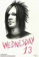 Wednesday 13 by SavanasArt