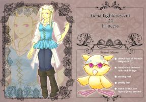 QG app: Fiona Lightcrescent by NEWLL