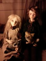 My dollies by hallowhawlk