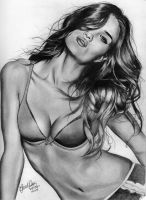 Rosie Huntington-Whitely by gerd324