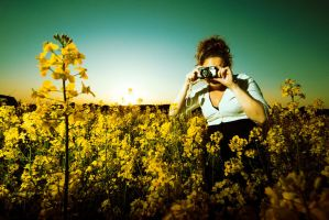 Lomo con flowers by scrame