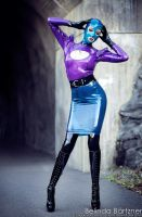 Psylocke Colorfull Heavy Rubber I by BelindaBartzner