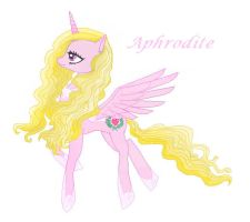 Ponified Aphrodite by AstraltheNightWolf