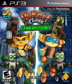 Ratchet and Clank Generations- Collab by Gashu-Monsata