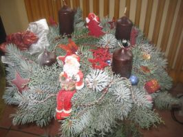 Advent wreath - Adventskranz by pa-he