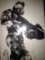Master Chief by Fancyshark14