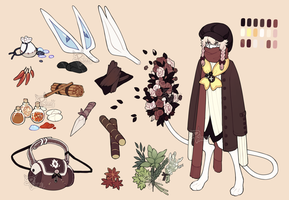 ::Personal:: - Nemimi Character Reference by PhloxeButt