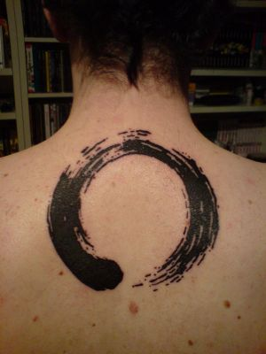 Enso Zen Circle Tattoo. My new (and first) tattoo. I got it done by Denis at