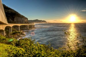 Sea Cliff Bridge by Shultzy