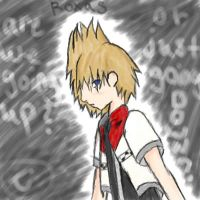 Roxas is going up..or down?? by Best-Never-Knowing
