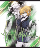 COM: Beru x Akimu - Blood Lad Style by CaptainMisuzu