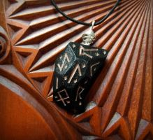 RUNIC PENDANT by MassoGeppetto