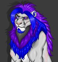 Quinn the Big Gay Lion - Paint by TheRaevyn13