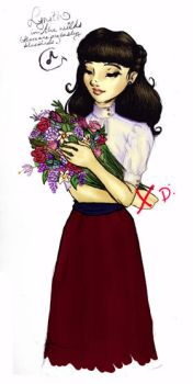 Lynith with Flowers by HarumotoSoapFactory