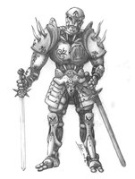 Rekon: warforged planar ranger by St-Vedder