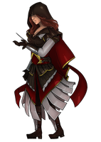 Commission lines- Rayne430 from Assassin's Creed by Lilith-the-5th