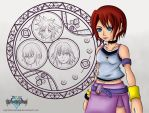 Kairi Wallpaper by NightBlossom66