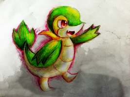 Snivy by Chibixi