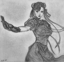 Chun Li (Street Fighter) by Bill-Con