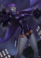 Raven by hunky-dory-artist