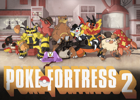 Pokemon Team Fortress 2 by tveye363