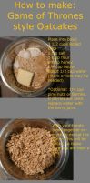 How to make Oat Cakes by AngelicAdonis
