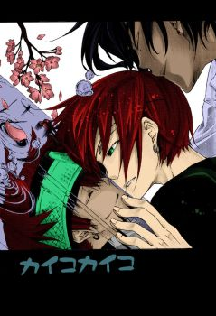 Lavi and Tyki by ted1369