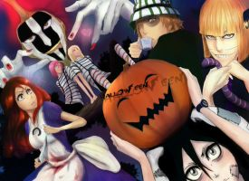 Bleach halloween. by Yukitoko