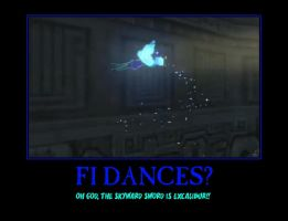 Zelda Fi Skyward Sword demotivational poster by Dbgtinfinite