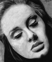 Adele drawing by manueee