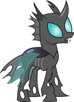 Discorded Changeling by TheShadowStone